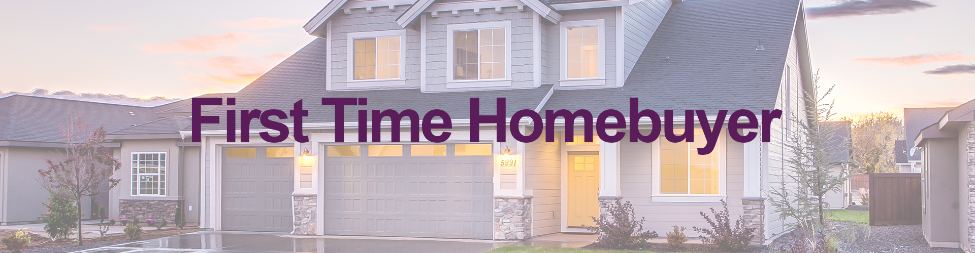 first time home loan